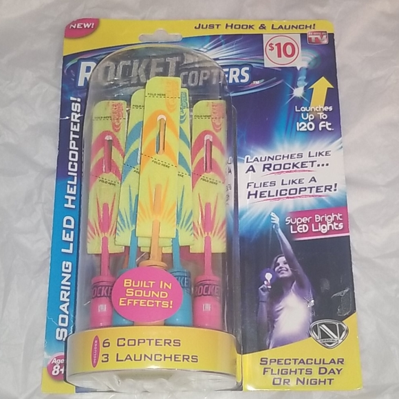 Toys Rocket Copters Poshmark